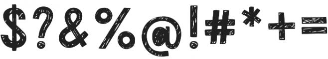 Pimpa otf (400) Font OTHER CHARS