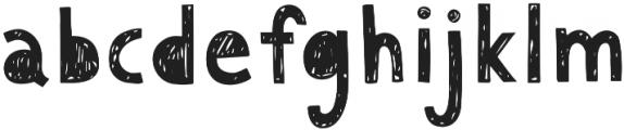 Pimpa otf (400) Font LOWERCASE