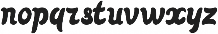 Pin-up One otf (400) Font LOWERCASE