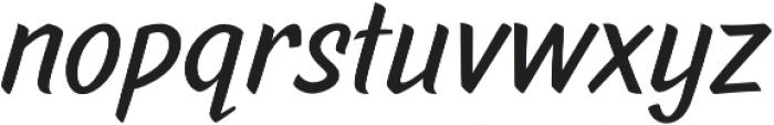 Pinatas Marks otf (700) Font LOWERCASE