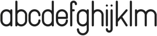 Pinchik ExtraBold otf (700) Font LOWERCASE