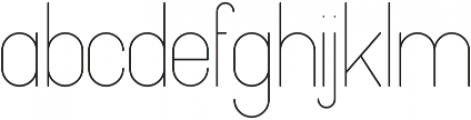 Pinchik Light otf (300) Font LOWERCASE