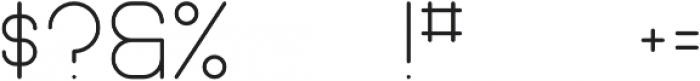 Pinchik Regular otf (400) Font OTHER CHARS