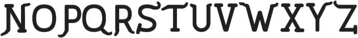 PineAndOak Regular ttf (400) Font UPPERCASE