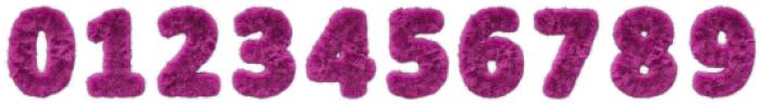 Pink Fur Regular otf (400) Font OTHER CHARS