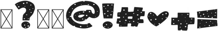 Pink Polka Regular otf (400) Font OTHER CHARS
