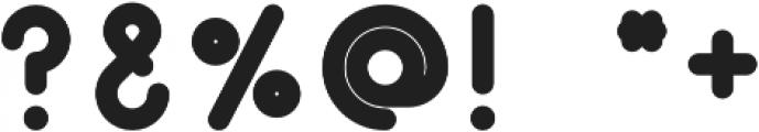 PinoBold Regular otf (700) Font OTHER CHARS