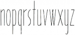 Pinocchio otf (400) Font LOWERCASE