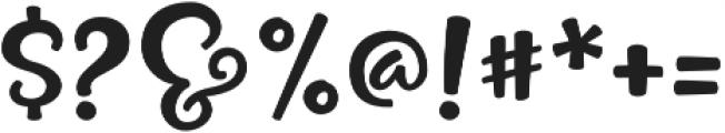 Pinsetter Littles otf (400) Font OTHER CHARS