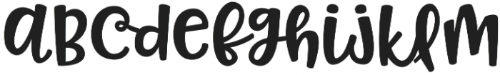 Pinsetter Middles otf (400) Font LOWERCASE