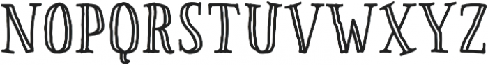 Pinto NO_03 Engraved otf (400) Font LOWERCASE