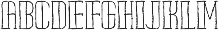 Pipe handsketches Regular ttf (400) Font UPPERCASE