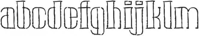 Pipe handsketches Regular ttf (400) Font LOWERCASE