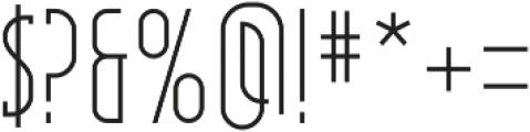 Pipe line Regular ttf (400) Font OTHER CHARS