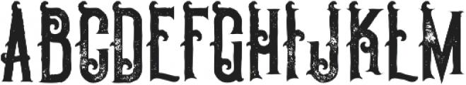 Pirate Bold Grunge otf (700) Font UPPERCASE