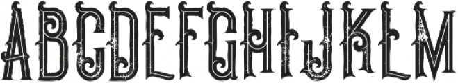 Pirate Bold Inline Grunge otf (700) Font UPPERCASE