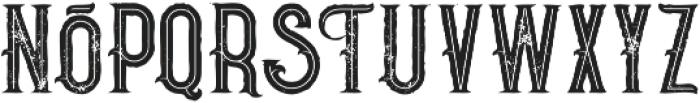 Pirate Bold Inline Grunge otf (700) Font LOWERCASE