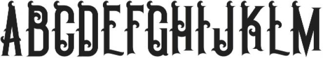 Pirate Bold otf (700) Font UPPERCASE