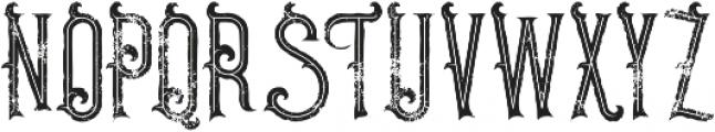 Pirate Inline Grunge otf (400) Font UPPERCASE