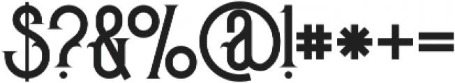 Pirate Regular otf (400) Font OTHER CHARS