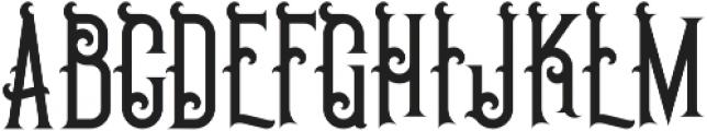 Pirate Regular otf (400) Font UPPERCASE