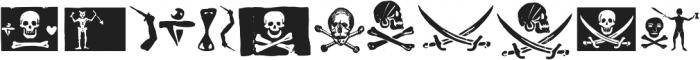 PiratesDeLuxe ttf (400) Font UPPERCASE