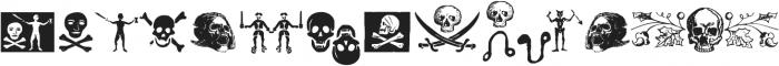 PiratesDeLuxe ttf (400) Font LOWERCASE