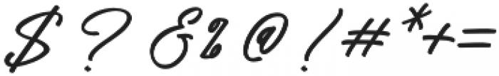 Pisonest otf (400) Font OTHER CHARS