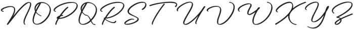 Pisonest otf (400) Font UPPERCASE