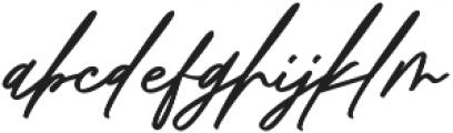 Pisonest otf (400) Font LOWERCASE
