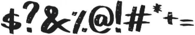 Pistachio Regular otf (400) Font OTHER CHARS