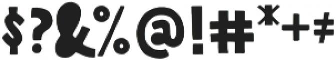Pistacho Sans 3 otf (400) Font OTHER CHARS