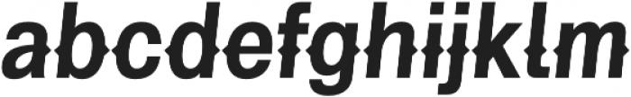 Pitmaster Bold Italic otf (700) Font LOWERCASE