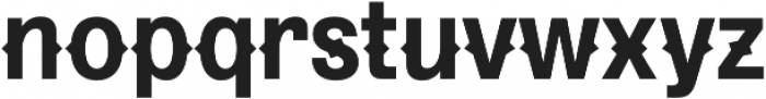 Pitmaster Bold otf (700) Font LOWERCASE