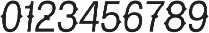 Pitmaster Light Italic otf (300) Font OTHER CHARS