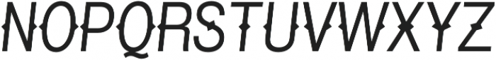 Pitmaster Light Italic otf (300) Font UPPERCASE