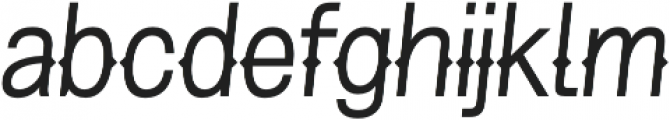 Pitmaster Light Italic otf (300) Font LOWERCASE