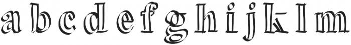 PitterPatter ttf (400) Font LOWERCASE