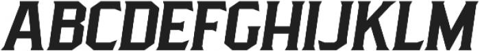 Pittsbrook Serif otf (400) Font UPPERCASE