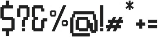 Pixel Rand Regular otf (400) Font OTHER CHARS