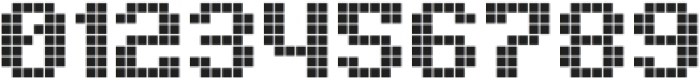 Pixelion Regular otf (400) Font OTHER CHARS