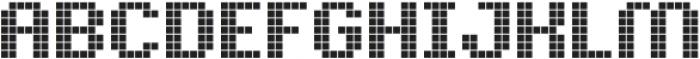 Pixelion Regular otf (400) Font UPPERCASE