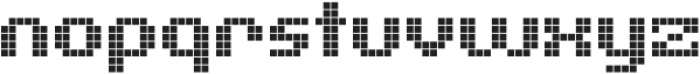 Pixelion Regular otf (400) Font LOWERCASE