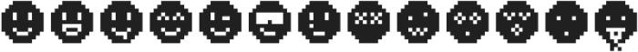Pixie Extra Smileys otf (400) Font LOWERCASE