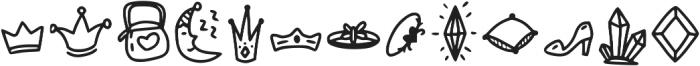Pixie Ring Extra ttf (400) Font UPPERCASE