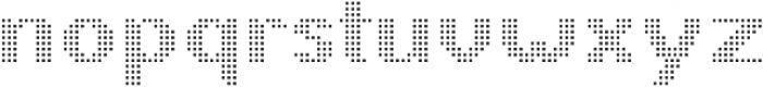 Pixie Sans Bold Dots otf (700) Font LOWERCASE