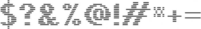 Pixie Sans Bold Lines otf (700) Font OTHER CHARS
