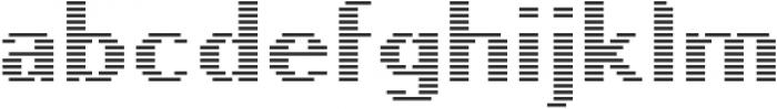 Pixie Sans Bold Lines otf (700) Font LOWERCASE
