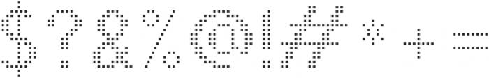 Pixie Sans Regular Dots otf (400) Font OTHER CHARS