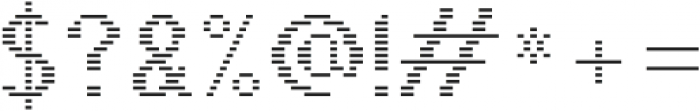 Pixie Sans Regular Lines otf (400) Font OTHER CHARS